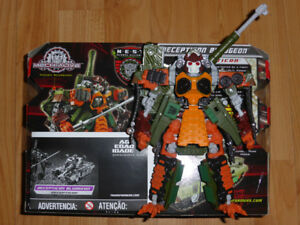 TRANSFORMERS THE MOVIE REVENGE OF THE FALLEN BLUDGEON MIB