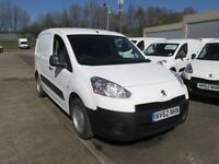 Peugeot Partner L1 850 S 1.6 Hdi 92BHP Van DIESEL MANUAL WHITE (2012)