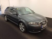 2008 AUDI A3 AUTOMATIC DIESEL SPORTBACK 2.0 TDI 170 S LINE S-T,1 OWNER-FULL SERVIES HISTORY