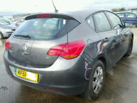 ASTRA MK 6 / J TAILGATE IN GREY WITH THE GLASS 2012 BREAKING