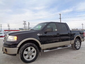 SOLD____2008 Ford F-150 SuperCrew KING RANCH-LEATHER-SUNROOF