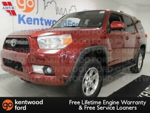 2011 Toyota 4Runner SR5 4WD power leather seats and sunroof!
