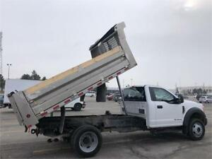 2017 FORD F550- XL-Regular Cab- 12 Ft Aluminum Dump Box-4x4