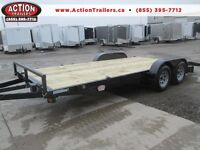 2015 Quality 7 x 18' car/equipment trailer LOTS OF FREE UPGRADES