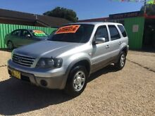 2006 Ford Escape ZC XLS Silver 4 Speed Automatic Wagon Islington Newcastle Area Preview