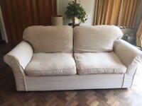 Very comfortable 3 piece sofa suite, in good condition
