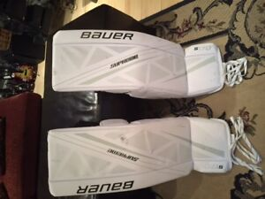"Bauer S170 Sr.Goalie Pads/Jambieres 36"" New + other hockey gear."