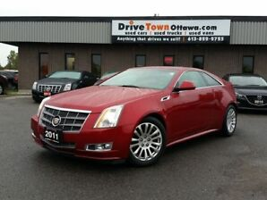 2011 Cadillac CTS PREMIUM **MOONROOF**LEATHER**NAVIGATION**