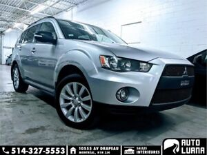 2010 Mitsubishi Outlander 4x4/7 PLACES/BLUETOOTH/MAGS/KEYLESS