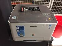 SAMSUNG Printer copier. Almost new, 2000 copies only! Brand new Black ink cartridge included