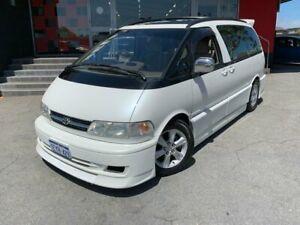 1997 Toyota Estima Emina Wagon 8st 4dr Auto 4sp 2.5 White Automatic Wagon