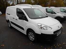 Peugeot Partner L2 1.6 HDI 92BHP CREW VAN DIESEL MANUAL WHITE (2013)