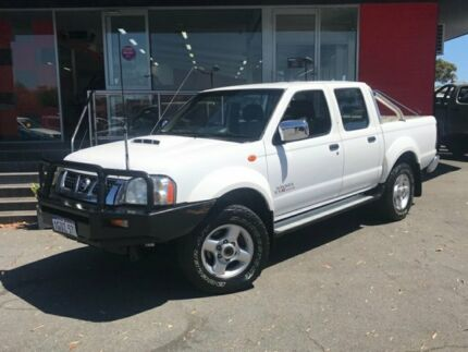 2012 Nissan Navara ST-R (4X4) D22 SERIES 5 DUAL CAB P/UP 2.5L DIESEL TURBO 4 5  White Manual Como South Perth Area Preview