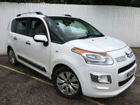 2013 Citroen C3 Picasso 1.6TD ( 90bhp ) Exclusive Only £30 Road Tax!!