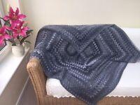 Sofa Throw Crocheted Handmade £45.00