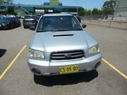 2003 Subaru Forester MY04 XT Luxury Silver 4 Speed Automatic Wagon Homebush West Strathfield Area Preview