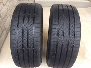 2 CONTINENTAL 4X4 TIRES: EXCELLENT CONDITION - 255/50/R19