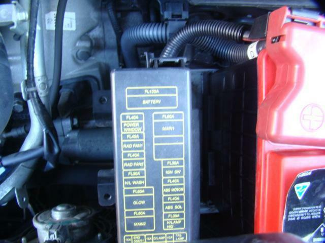 details about nissan xtrail fuse box in engine bay,t30 petrol 2 5ltr  manual10/01-09/07