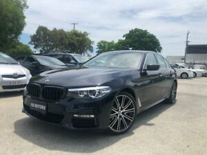 2017 BMW 520i G30 MY18 Luxury Line Blue 8 Speed Automatic Sedan Coopers Plains Brisbane South West Preview