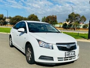2010 Holden Cruze JG CD White 6 Speed Sports Automatic Sedan Mawson Lakes Salisbury Area Preview