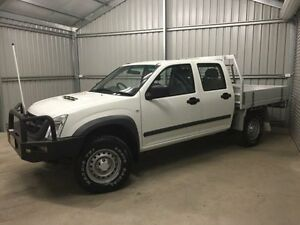 2012 Isuzu D-MAX TF MY12 SX (4x4) White 5 Speed Manual Crewcab Coonamble Coonamble Area Preview