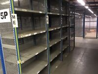 dexion impex industrial shelving 2.4m high ( storage . pallet racking )