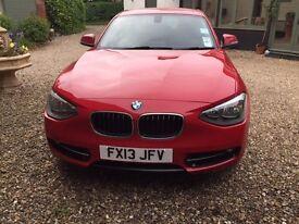 BMW 114i Sport Red