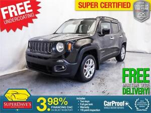 2015 Jeep Renegade North 4X4 *Warranty* $169.72 Bi-Weekly OAC