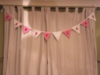 Candy cane garland decoration 50p a flag £5 each garland free postage.