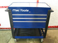 Mac Tools Deluxe 3-Drawer Utility Cart & TORQUE WRENCH