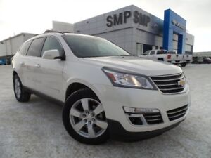 2014 Chevrolet Traverse LTZ- AWD, Heated Leather, Nav, Sunroof