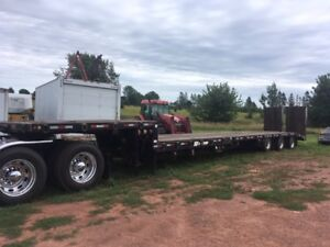 2013 BWS EZ to load equipment trailer