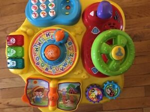 bay toy (VTECH)( magic learning table)