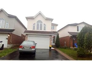 GORGEOUS DETACHED-4 BDRMS,MODERN,S.STEEL,HARDWOD,PATIO-KITCHENER