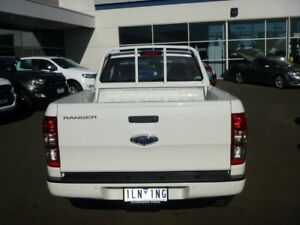 2017 Ford Ranger PX MkII XL Super Cab White 6 Speed Manual Utility