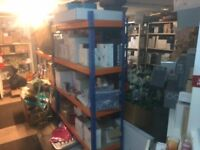 MASSIVE AMOUNT stockroom shelving and storage units