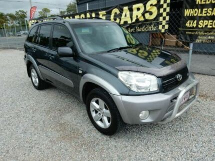 2004 Toyota RAV4 ACA23R Cruiser Grey 5 Speed Manual Wagon Redcliffe Redcliffe Area Preview