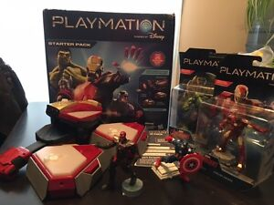 Playmation Repulsor Starter Pack and 2 figures