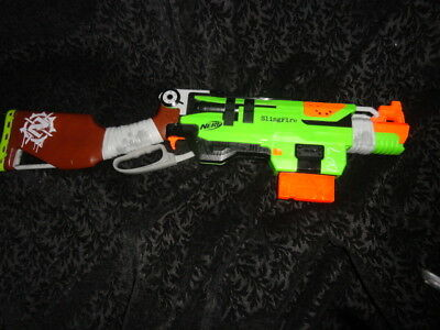 Nerf Zombie Strike Slingfire Blaster Dart Gun    Free Shipping