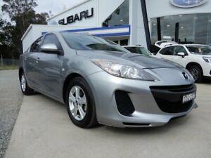 2013 Mazda 3 BL10F2 MY13 Neo Silver 6 Speed Manual Sedan Glendale Lake Macquarie Area Preview