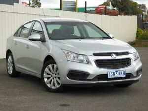 2016 Holden Cruze JH Series II MY16 Equipe Silver 6 Speed Sports Automatic Sedan Sunbury Hume Area Preview