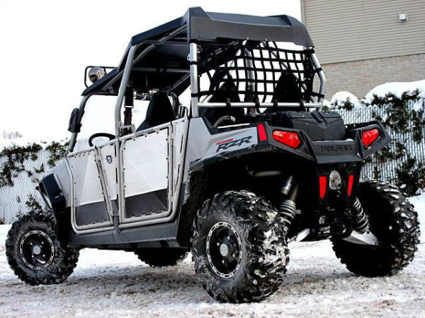 Used 2010 Polaris RZR4 800 HO 4 seater excellent condition. Full Opt