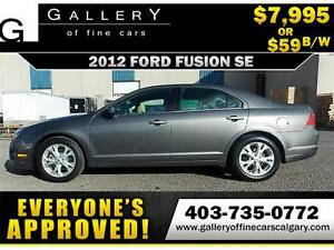 2012 Ford Fusion SE $59 bi-weekly APPLY TODAY DRIVE TODAY