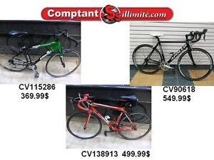 Profitez de notre vaste choix de vélos en inventaire Chez Comptant illimite.com 819-566-3333