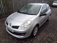 RENAULT CLIO DCI 3 DOOR 1.5 DIESEL 2006 142,000 MILES MOT :9/11/17 £30 ROAD TAX EXCELLENT CONDITION