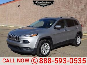 2016 Jeep Cherokee 4WD NORTH Accident Free,  Heated Seats,  Pano
