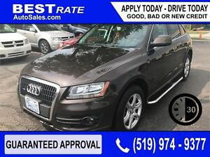 AUDI Q5 - APPROVED IN 30 MINUTES! - ANY CREDIT LOANS