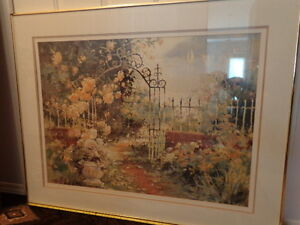 """The Iron Gate"" giant framed print"