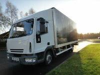 Iveco Eurocargo 75E17 Euro 4 20ft GRP box with tail lift