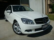 2010 Mercedes-Benz C200 Kompressor W204 Classic White 5 Speed Automatic Sedan Willagee Melville Area Preview
